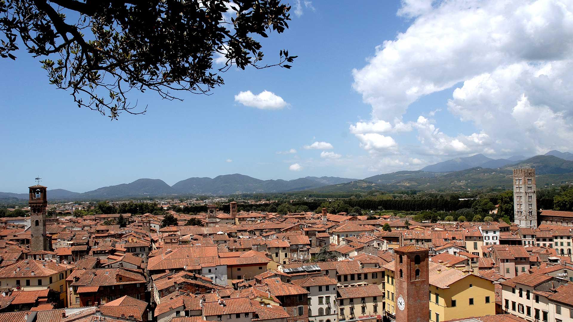 Foto territorio Lucca bed and breakfast locanda francigena lucca